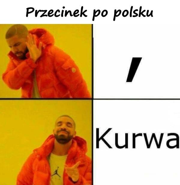 Przecinek po polsku