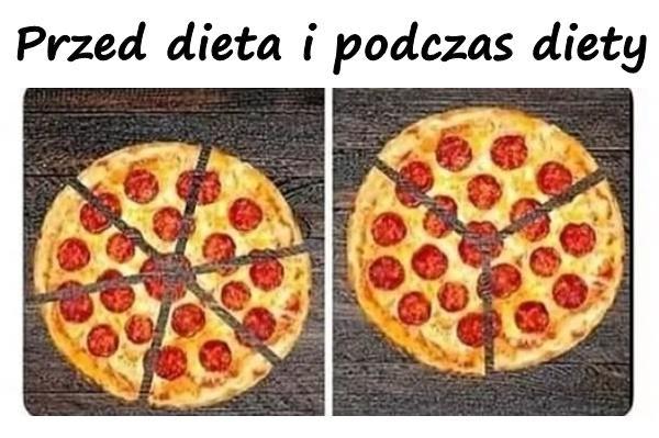 Przed dieta i podczas diety