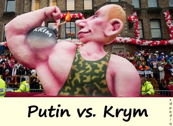 Putin vs. Krym - napinanie mięśni