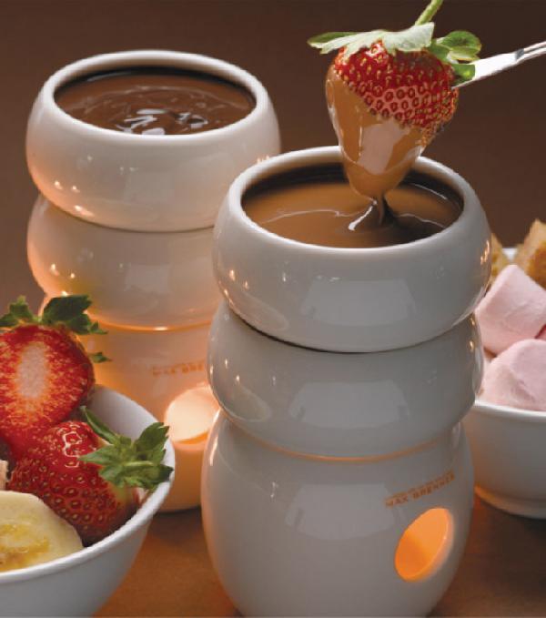 Pychotka - truskaweczki w sosiku czekoladowym