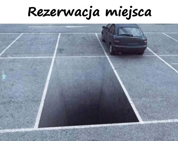 Rezerwacja miejsca parkingowego