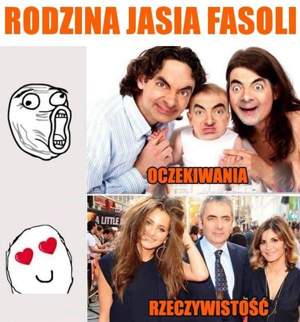 Rodzina Jasia Fasoli