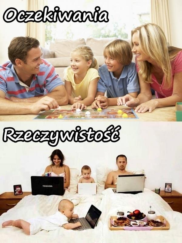Rodzina - oczekiwania a rzeczywistość