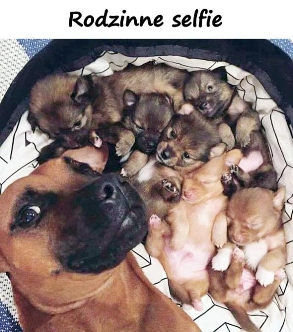 Rodzinne selfie
