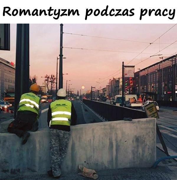 Romantyzm podczas pracy