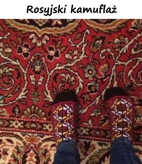 Rosyjski kamuflaż