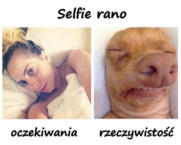 Selfie rano