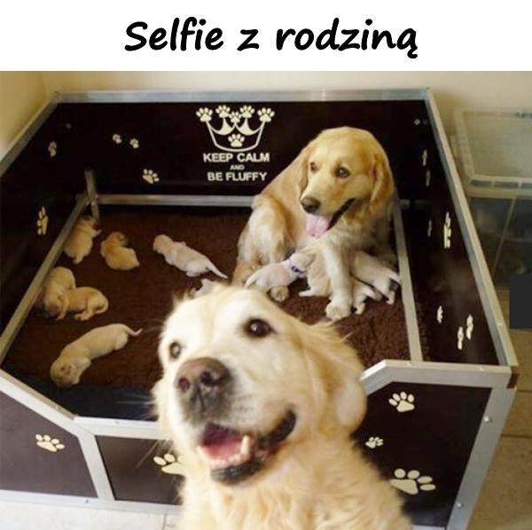 Selfie z rodziną