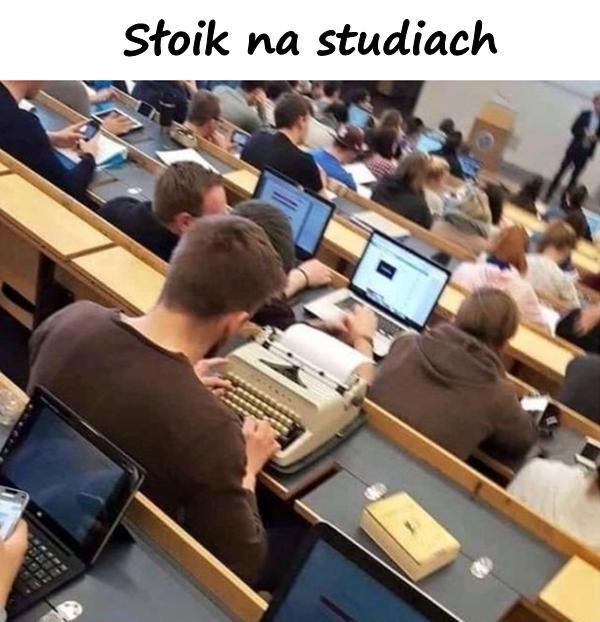 Słoik na studiach