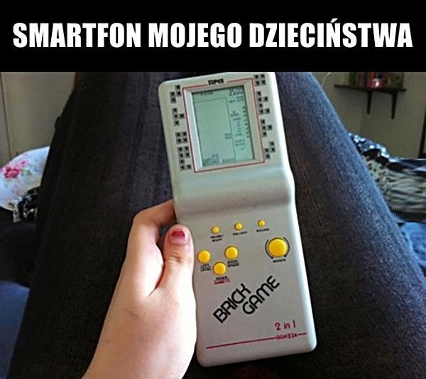 Smartfon mojego dzieciństwa
