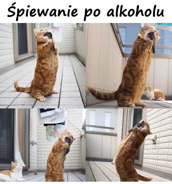 Śpiewanie po alkoholu