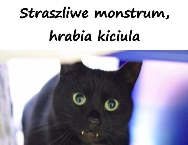 Straszliwe monstrum, hrabia kiciula