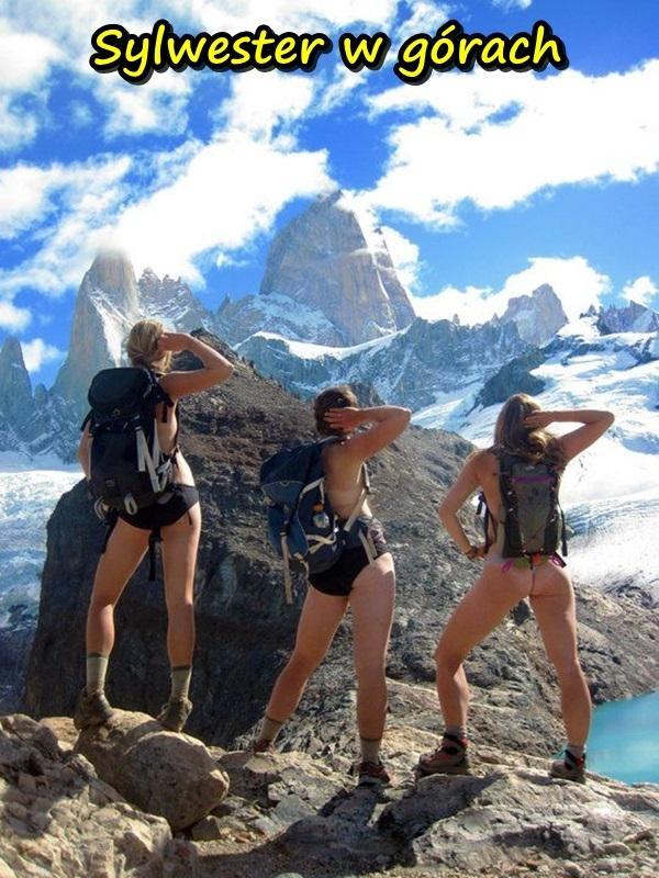 Sylwester w górach