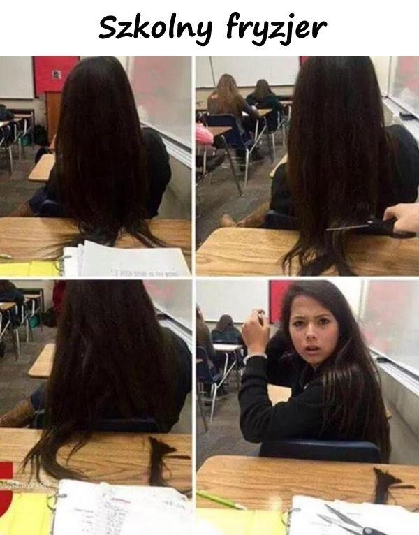 Szkolny fryzjer