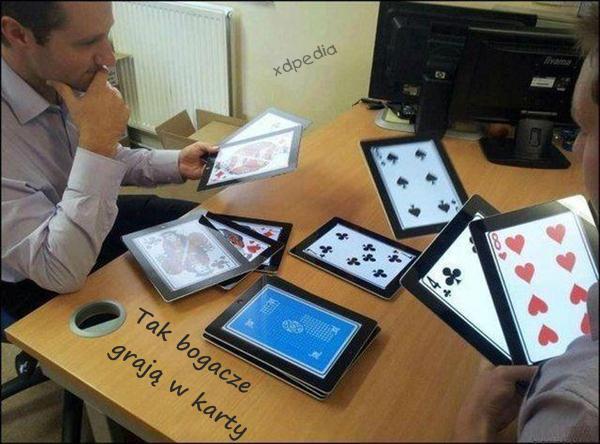 Tak bogacze grają w karty Tagi: memy, mem, besty, bogacze, karty.