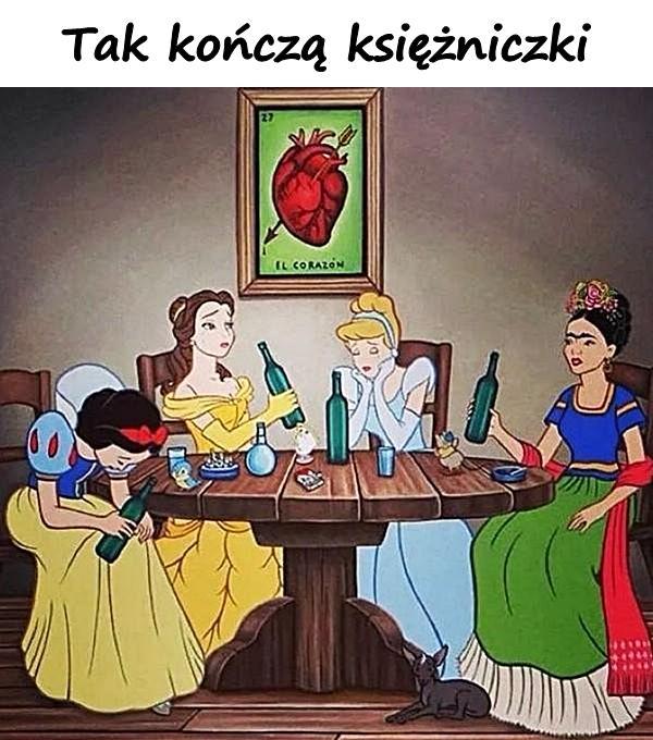 Tak kończą księżniczki