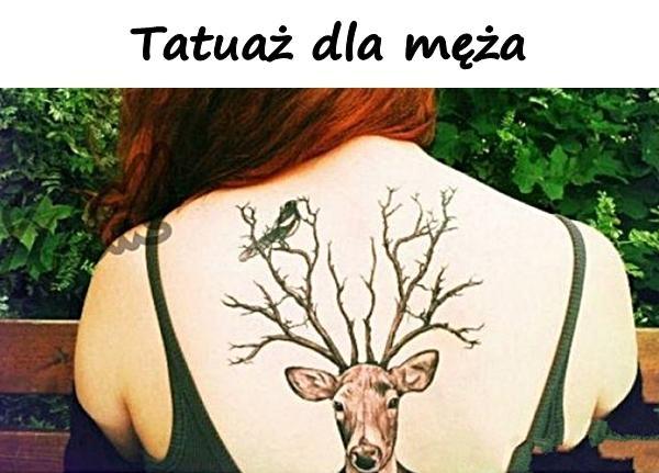 Tatuaż dla męża
