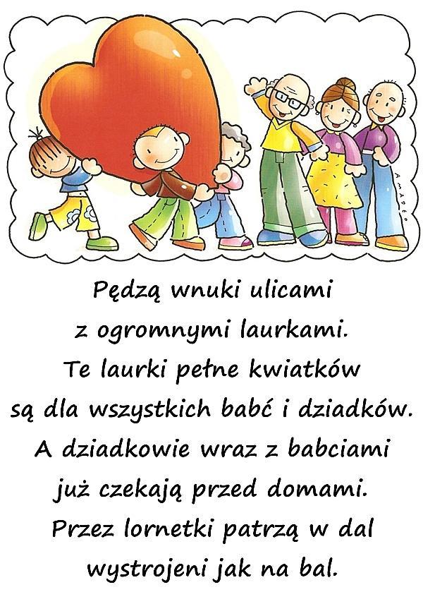 życzenia Na Dzień Babci Dnia Babci Laurki Mem Na Dzień