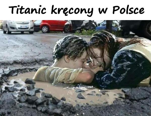 Titanic kręcony w Polsce