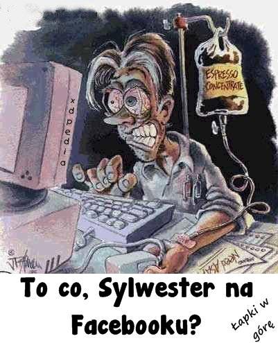 To co, Sylwester na Facebooku? Łapki w górę...