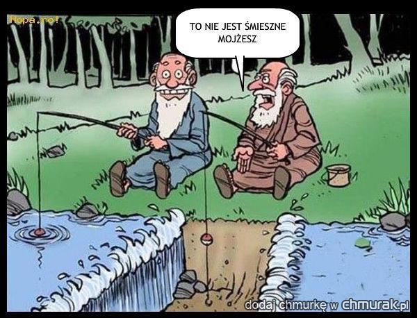 To nie jest śmieszne Mojżesz
