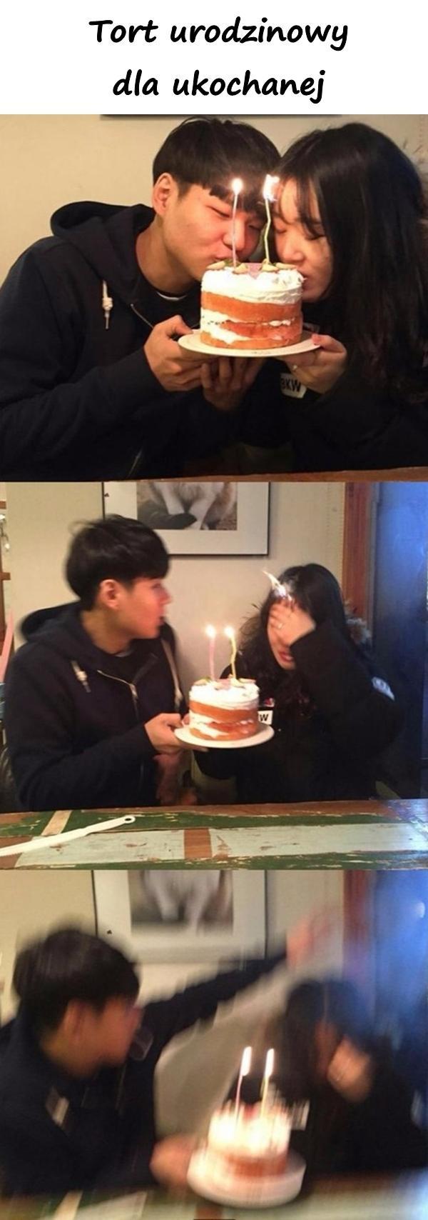 Tort urodzinowy dla ukochanej