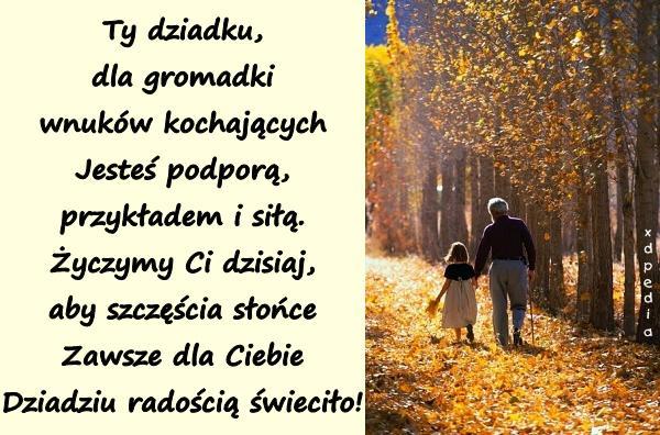 życzenia Na Dzień Dziadka życzenia Wierszyki Wierszyk