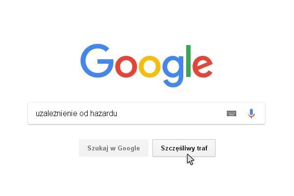 Uzależnienie od hazardu w google