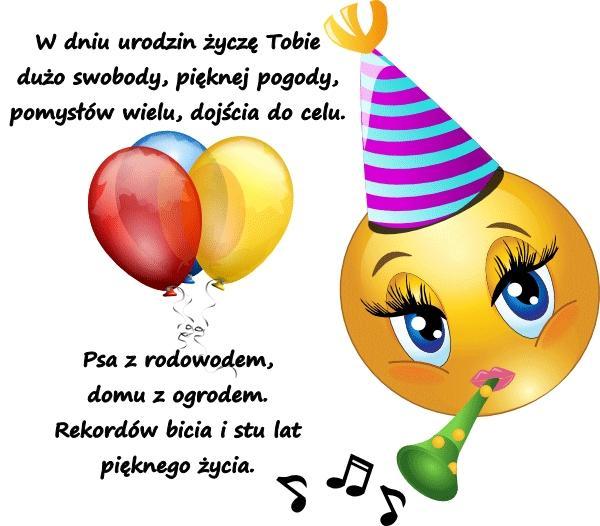 Wiersze Wierszyk Kartka Kartka Urodzinowa Kartki