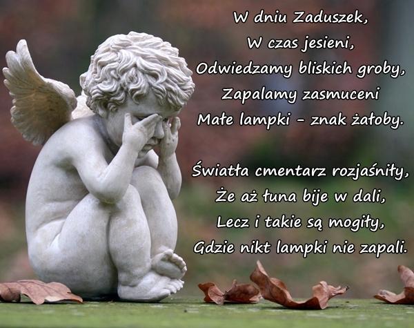 Wiersze Zaduszki święto Zmarłych Zaduma Wierszyk Mem