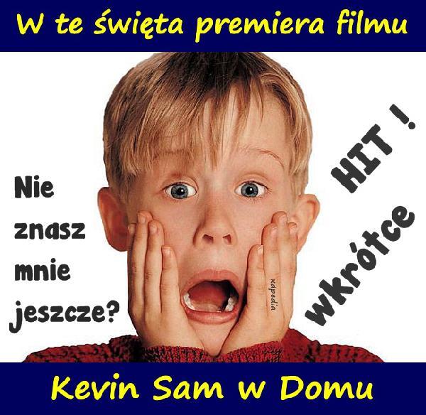 W te święta premiera filmu Kevin Sam w Domu