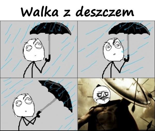 Walka z deszczem