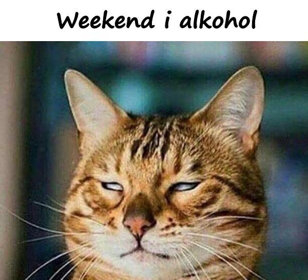 Weekend i alkohol
