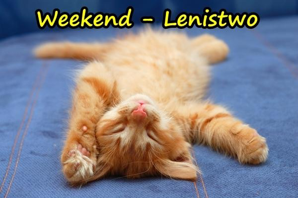 Weekend - Lenistwo