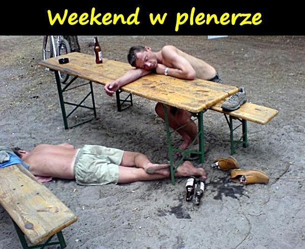 Weekend w plenerze