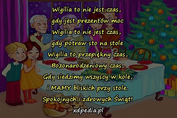 Wiersze życzenia Wigilijne życzenia Szczęślwych Memy