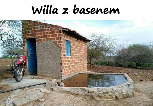 Willa z basenem