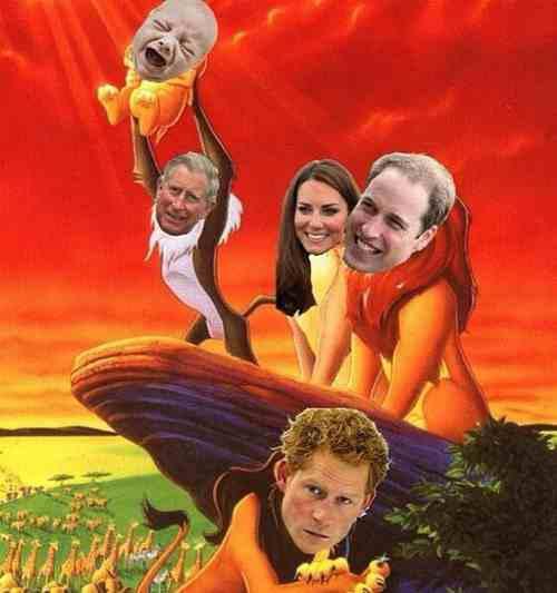 William i Kate - Narodziny księcia George