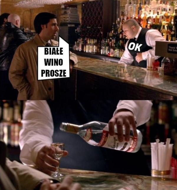 Białe wino poproszę