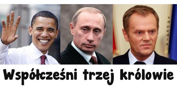 Współcześni trzej królowie