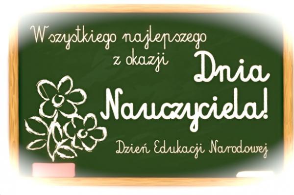 Wszystkiego najlepszego z okazji Dnia Nauczyciela (Dzień Edukacji Narodowej)