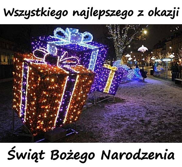 Wszystkiego najlepszego z okazji Świąt Bożego Narodzenia