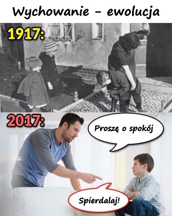 Wychowanie - ewolucja