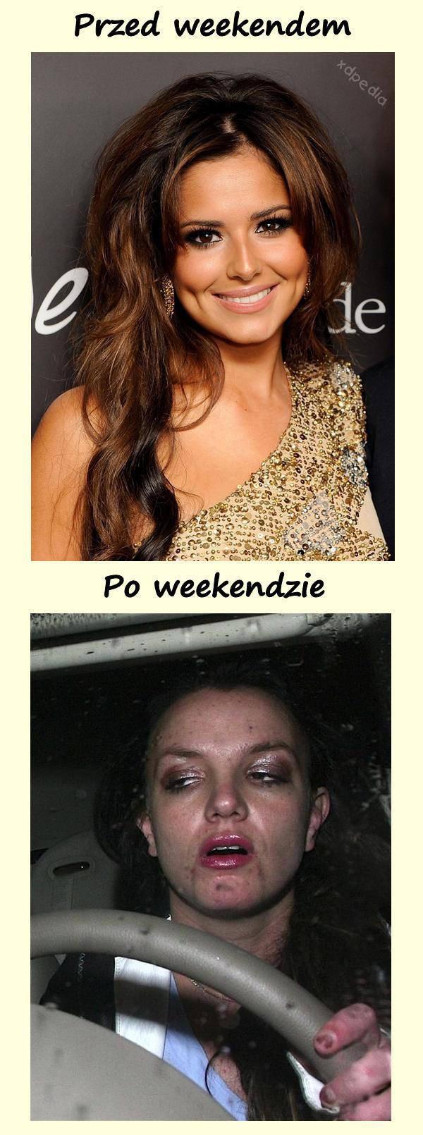 Wygląd - przed weekendem vs. po weekendzie Tagi: kwejk, memy, mem, weekend, melanż, zgon, zjazd, wygląd, łikend, odlot.