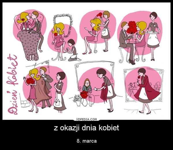 okazji dnia kobiet