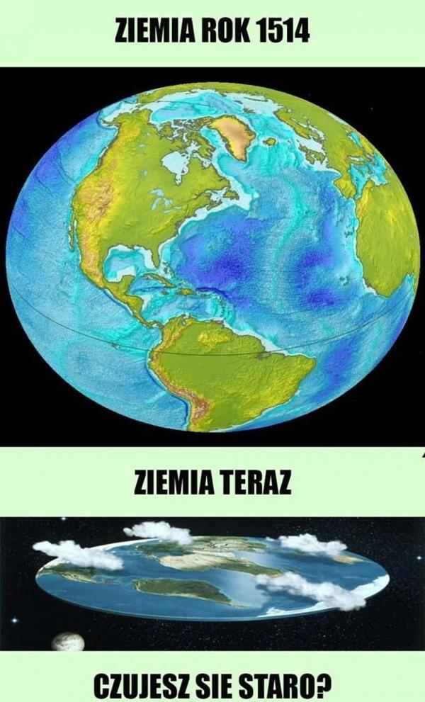 Ziemia kiedyś i teraz