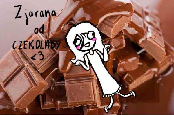 Zjarana od czekolady <3