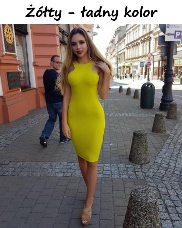 Żółty - ładny kolor
