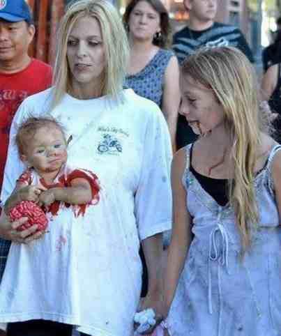 Zombie - cała rodzina