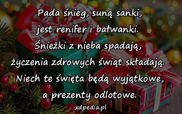 życzenia Bożonarodzeniowe Niech Te święta Będą Wyjątkowe